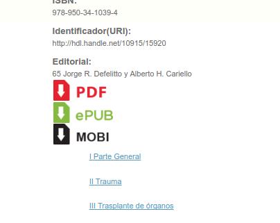 Nuevas opciones de descarga de archivos en el Portal de Libros de la UNLP