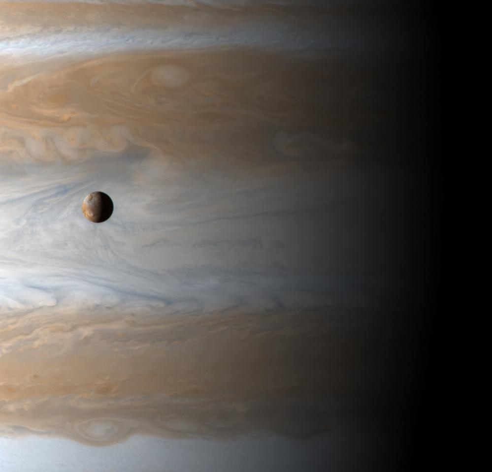Júpiter y Ganímides. Fuente: Wikipedia